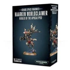 Warhammer 40K Chaos Space Marines Haarken Worldclaimer Herald of the Apocalypse