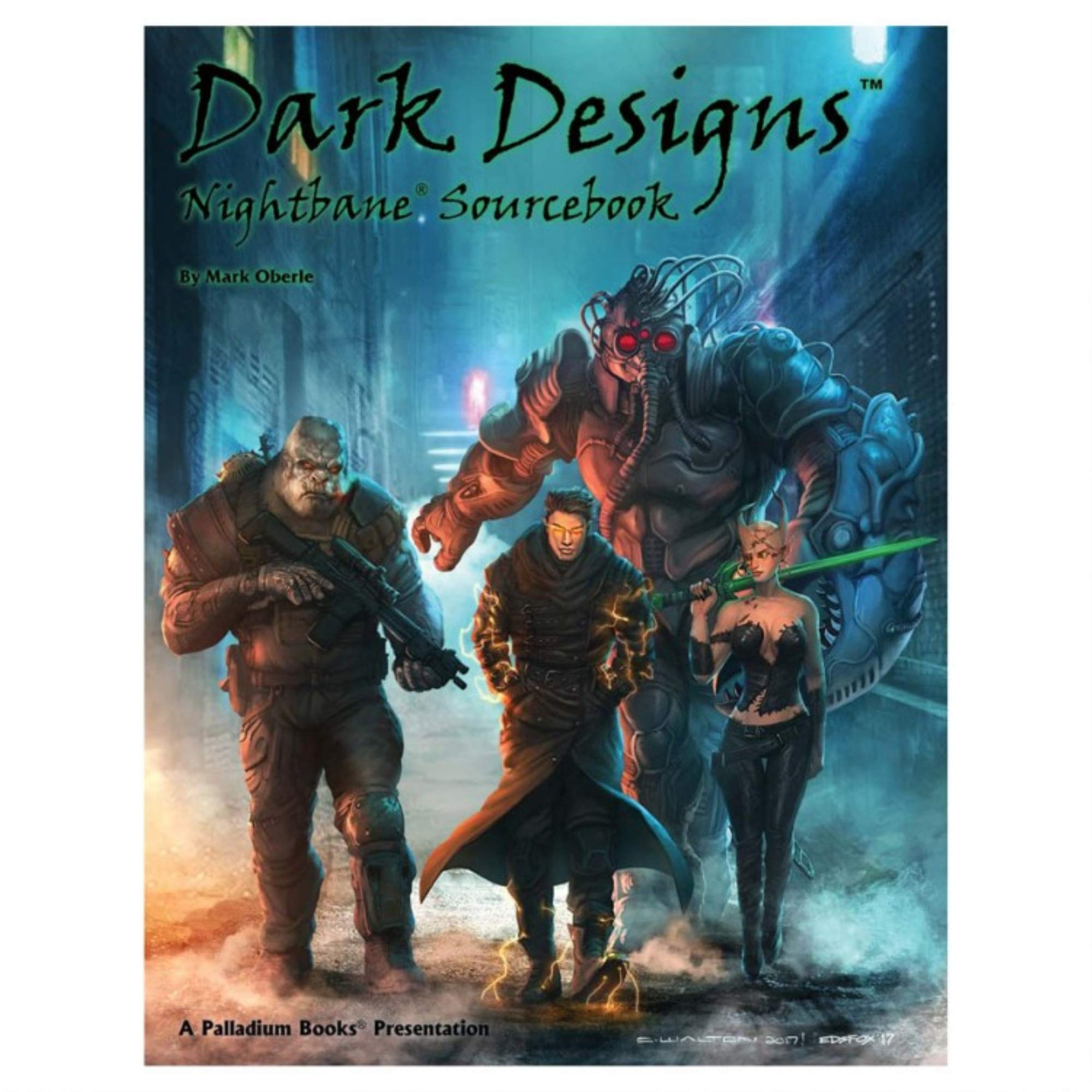 Dark Designs Nightbane Source Book