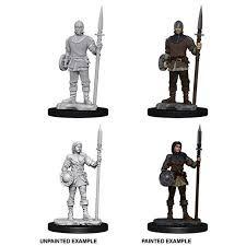 Wizkids Deep Cuts Guards Primed HD Miniatures