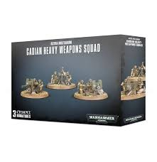 Warhammer 40K Cadian Heavy Weapons Squad