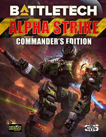 Battletech Alpha Strike Commanders Edition