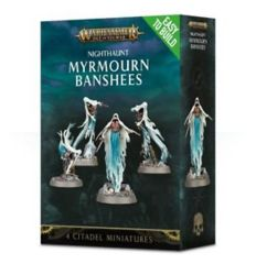 Age of Sigmar Nighthaunt Myrmourn Banshees Easy to Build