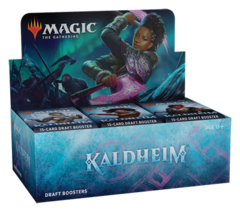 Magic the Gathering TCG: Kaldheim Draft Booster Display