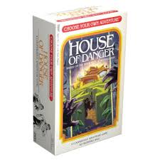 House of Danger Choose your own Adventure