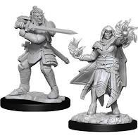 Hobgoblin Fighter & Hobogoblin Wizard