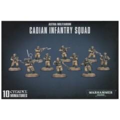 Warhammer 40k Astra Militarum Cadian Infantry Squad