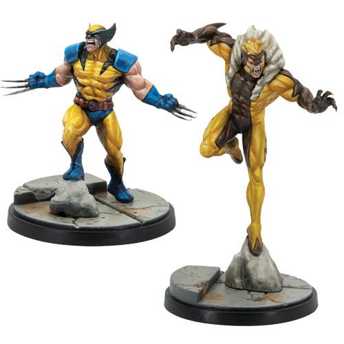 Marvel Crisis Protocol Wolverine & Sabretooth