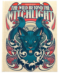 D&D The Wild Beyond the Witchlight Book Alternative Cover