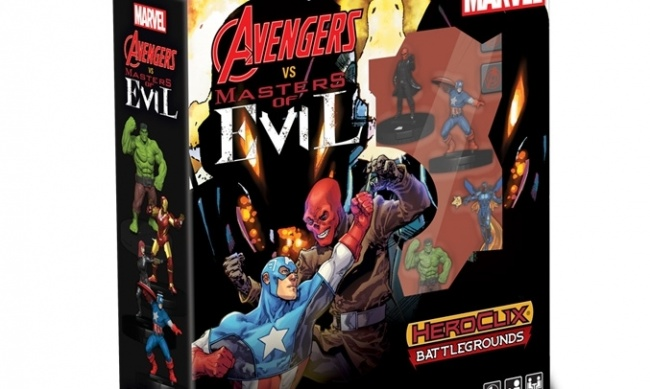 Heroclix Battlegrounds Avengers vs Masters of Evil