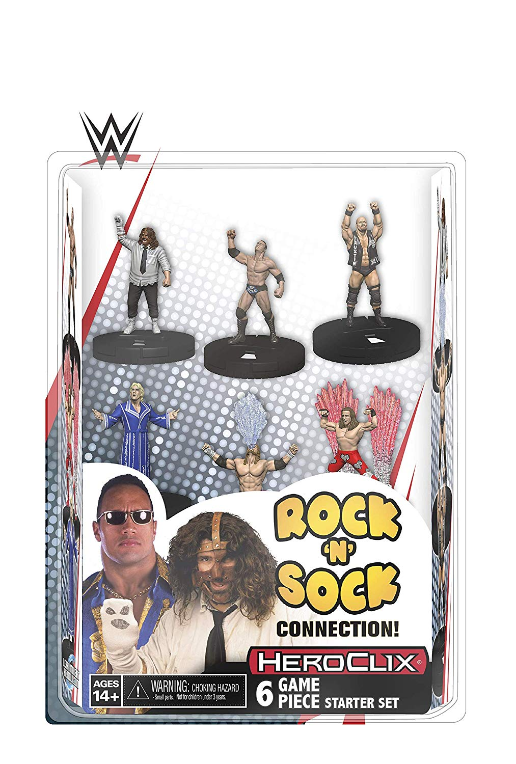 Heroclix WWE Rock N Sock