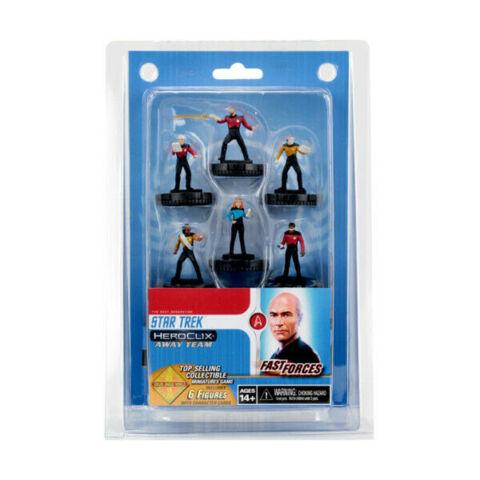 Heroclix Star Trek Away Team Fast Forces Set