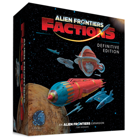 Alien Frontiers Factions