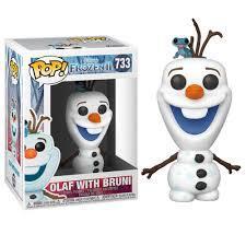 POP! 733 Olaf with Bruni