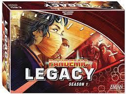 Pandemic Legacy Season 1 Red Box