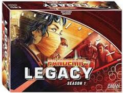 Pandemic Legacy Season 1 Red Box