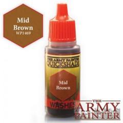 Warpaints: Mid Brown 18ml