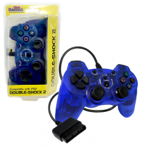 Old Skool: PS2 Wired DOUBLE-SHOCK 2 Controller (BLUE) (OS-6947)