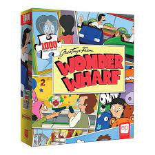 1000 Piece Puzzle - Bobs Burgers Greetings from Wonder Wharf
