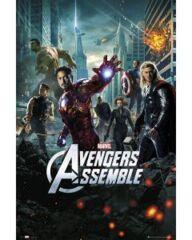 Poster: The Avengers Assemble (24x36) (159703)