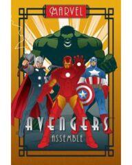 Poster: Avengers Marvel Deco (24x36) (160840)