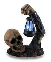 World of Wonders - Triumph Zombie Solar Powered Lantern