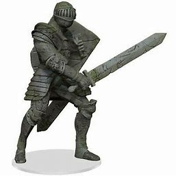 Dungeons & Dragons: Icons of the Realms - Walking Statue of Waterdeep - The Honorable Knight (73651)