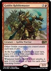 Goblin Rabblemaster - M2015 Foil