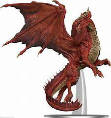 Dungeons & Dragons: Icons of the Realms - Adult Red Dragon (96032)