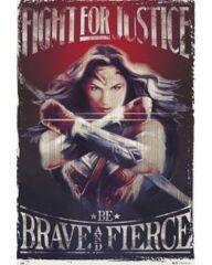 DC Comics Wonder Woman - Fight (160585) (24 x 36)