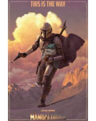 Poster: Star Wars The Mandalorian On the Run (24x36) (160059)