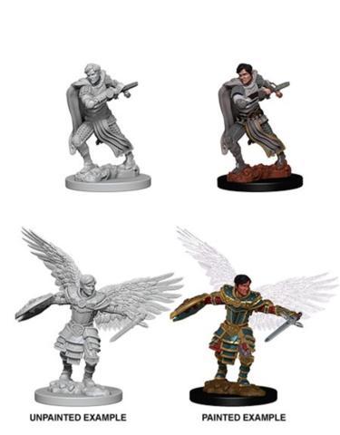 Nolzur's Marvelous Miniatures Aasimar Fighter