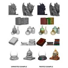 WizKids Deep Cuts Unpainted Miniatures: Wizard's Room