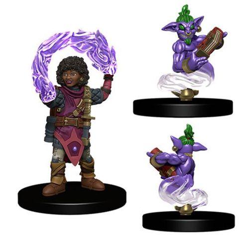 Wardlings- Girl Wizard with Genie
