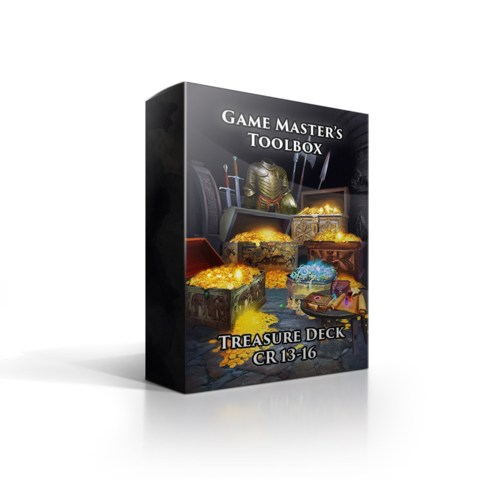 Game Master's Toolbox Treasure Deck CR 13-16