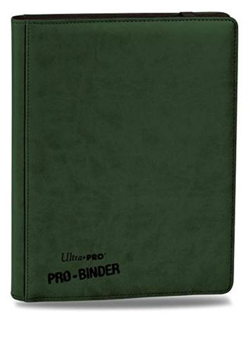 Premium Pro Green Binder