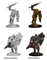 Nolzur's Marvelous Miniatures Death Knight & Helmed Horror