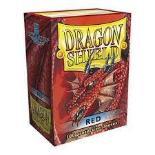 Dragon Shield 100 Count: Red