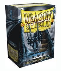 Dragon Shield 100 Count: Black
