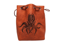 Easy Roller Dice: Cthulhu Self Standing Leather-Lite Dice Bag