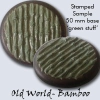 Base Texture Stamps 3x3 Bamboo