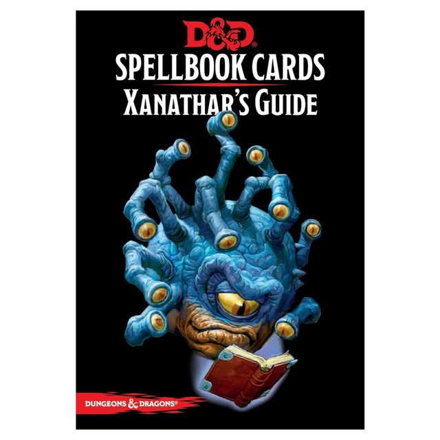 Spellbook Cards Xanathar's Guide