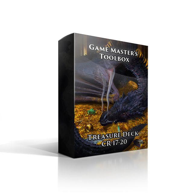 Game Master's Toolbox Treasure Deck CR 17-20