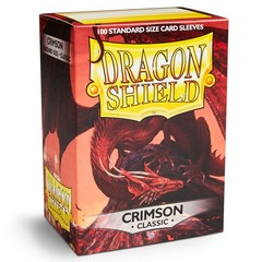 Dragon Shield 100 Count: Crimson Classic