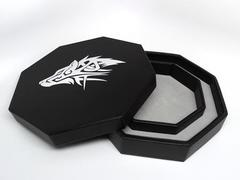 Easy Roller Dice Tray w/ Staging Area &0 Lid- Wolf