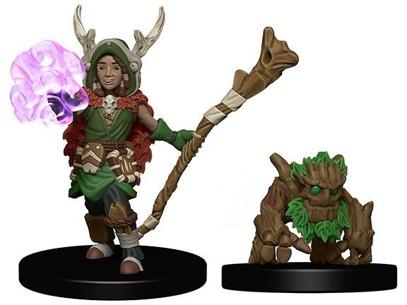 Wardlings- Boy Druid with Tree Companion