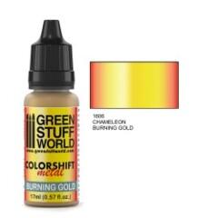 Colorshift Metal Burning Gold