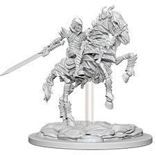 Pathfinder Deep Cuts Unpainted Miniatures: Skeleton Knight on Horse