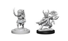 Nolzur's Marvelous Miniatures Female Halfling Fighter