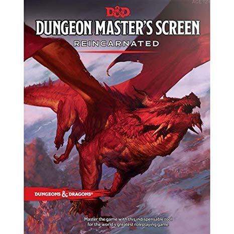 Dungeon's Master's Screen: Reincarnated