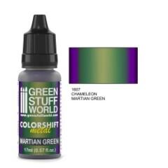 Colorshift Metal Martian Green